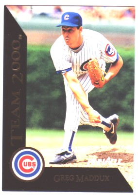 1992 Pinnacle Team 2000 #32 Greg Maddux