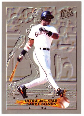 1993 Ultra All-Stars #6 Barry Bonds