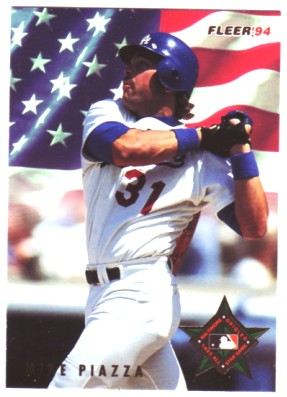 1994 Fleer All-Stars #47 Mike Piazza