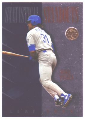 1994 Leaf Statistical Standouts #4 Mike Piazza