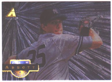 1994 Pinnacle Museum Collection #110 Jim Abbott