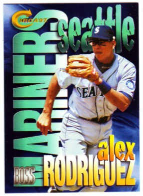 1997 Circa Boss #16 Alex Rodriguez