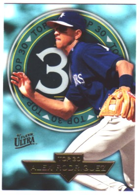 1997 Ultra Top 30 #4 Alex Rodriguez