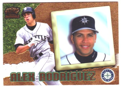 1998 Pacific Invincible #67 Alex Rodriguez