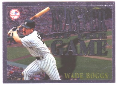 1996 Topps Chrome Masters of the Game #11 Wade Boggs