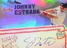 2005 Topps Pack Wars Autographs #JE Johnny Estrada D