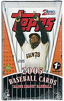 2005 Topps Series 2 factory-sealed HTA 1st ( First ) Edition baseball box