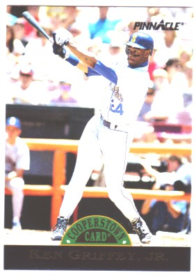 1993 Pinnacle Cooperstown #22 Ken Griffey Jr.
