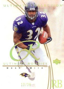 2003 Ultimate Collection Gold #82 Musa Smith/25