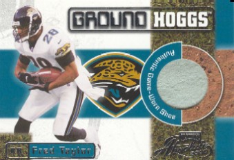 2000 Absolute Ground Hoggs Shoe #GH12 Fred Taylor/135