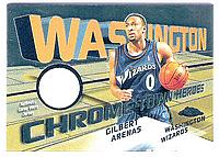 2004-05 Topps Chrome Chrome-Town Heroes #GA Gilbert Arenas/287