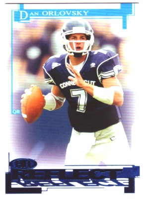 2005 SAGE HIT Reflect Blue #R7 Dan Orlovsky