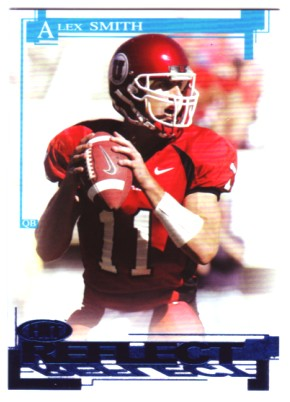 2005 SAGE HIT Reflect Blue #R11 Alex Smith QB