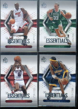 2004-05 SP Authentic #121 Julius Erving ESS front image