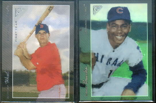2005 Topps Gallery Artist's Proof #190 Ernie Banks RET