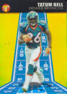 2004 Topps Pristine Gold Refractors #147 Tatum Bell C