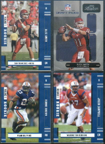2005 Playoff Prestige #153 Alex Smith QB RC