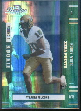 2005 Playoff Prestige Xtra Points Green #206 Roddy White