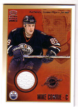 2002-03 Crown Royale Jerseys #6 Mike Comrie