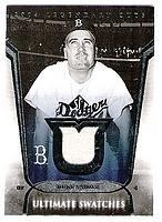 2004 SP Legendary Cuts Ultimate Swatches #DS Duke Snider Jsy SP