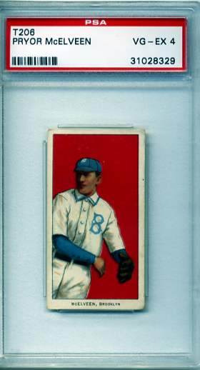 1909-11 T206 #315 Pryor McElveen