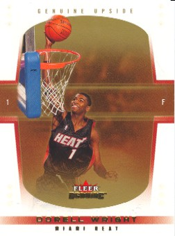 2004-05 Fleer Genuine 10 #124 Dorell Wright