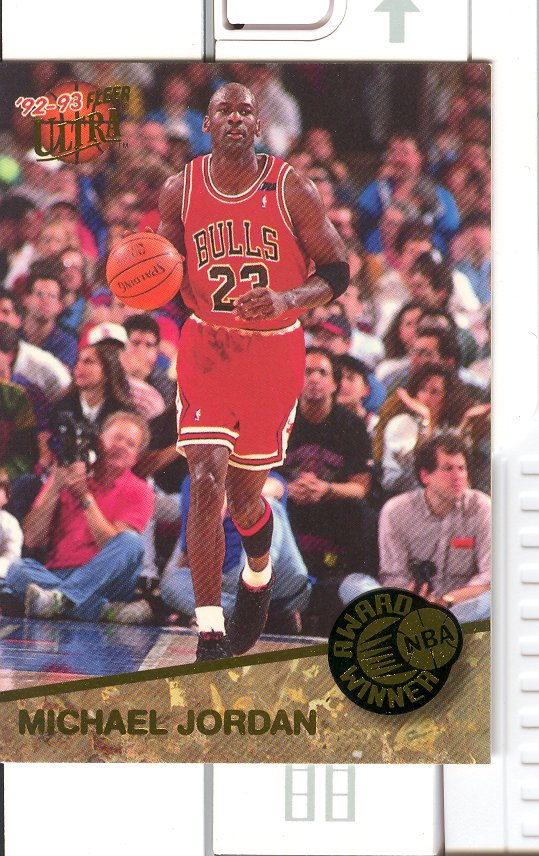 1992-93 Ultra Award Winners #1 Michael Jordan