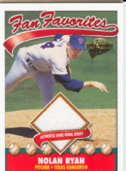 2004 Topps All-Time Fan Favorites Relics #NR Nolan Ryan Jsy