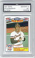 1985 Topps Glossy All-Stars #11 Willie McCovey CAPT