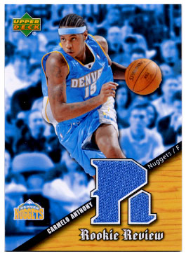 2004-05 Upper Deck Rookie Review #CA Carmelo Anthony SP