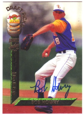 1994 Signature Rookies Draft Picks Signatures #89 Bob Howry