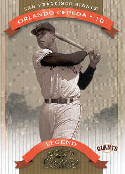 2002 Donruss Classics #187 Orlando Cepeda LGD