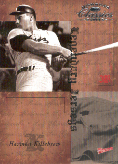 2004 Donruss Classics Legendary Jerseys #24 Harmon Killebrew