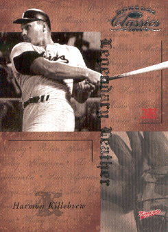 2004 Donruss Classics Legendary Leather #24 Harmon Killebrew
