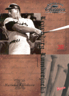2004 Donruss Classics Legendary Lumberjacks #24 Harmon Killebrew