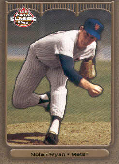 2003 Fleer Fall Classics Championship Gold #6A Nolan Ryan Mets