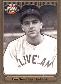 2003 Fleer Fall Classics Championship Gold #19 Lou Boudreau