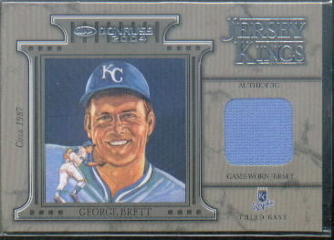 2004 Donruss Jersey Kings #9 George Brett 87