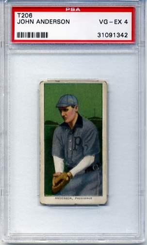 1909-11 T206 #10 John Anderson ML