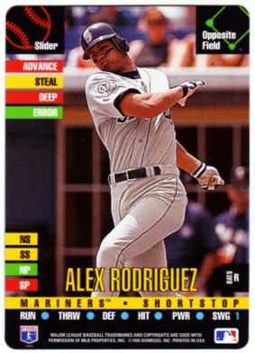 1995 Donruss Top of the Order #155 Alex Rodriguez C