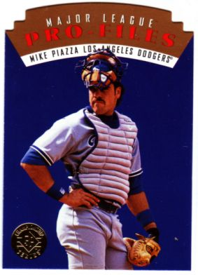 1995 SP Championship Die Cuts #57 Mike Piazza MLP