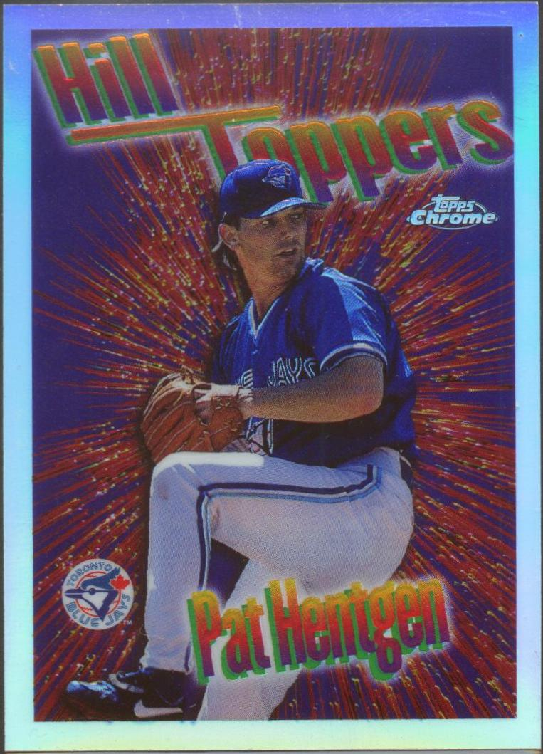 1997 Topps Chrome Season's Best Refractors #18 Pat Hentgen