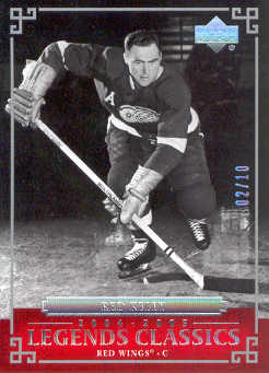 2004-05 UD Legends Classics Platinum #46 Red Kelly