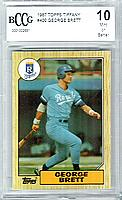 1987 Topps Tiffany #400 George Brett