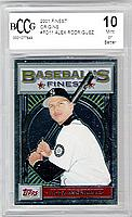 2001 Finest Origins #FO11 Alex Rodriguez