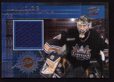 2000-01 Pacific Game-Worn Jersey #15, Olaf Kolzig