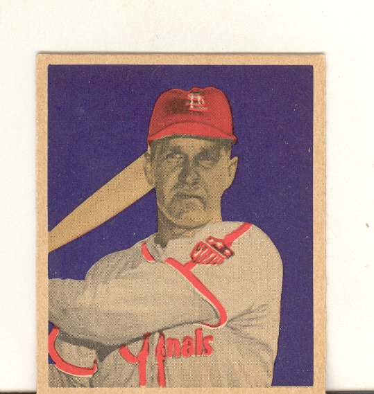 1949 Bowman #65 Enos Slaughter