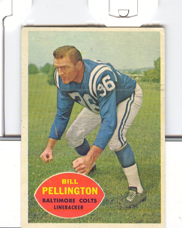 1960 Topps #8 Bill Pellington RC
