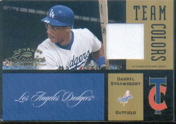 2004 Donruss Classics Team Colors Jersey #22 Darryl Strawberry Dgr/100