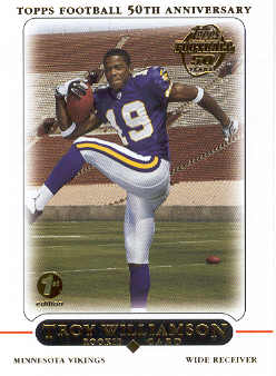 2005 Topps First Edition #440 Troy Williamson front image